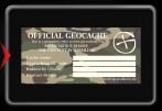 Official Geocache Decal