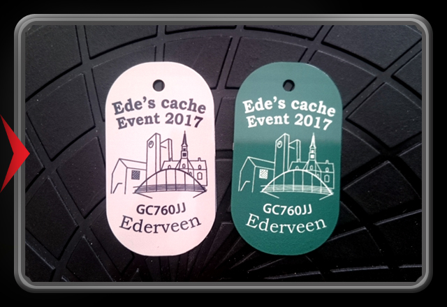 Ede's Cache Event 2016 Trackable Tag
