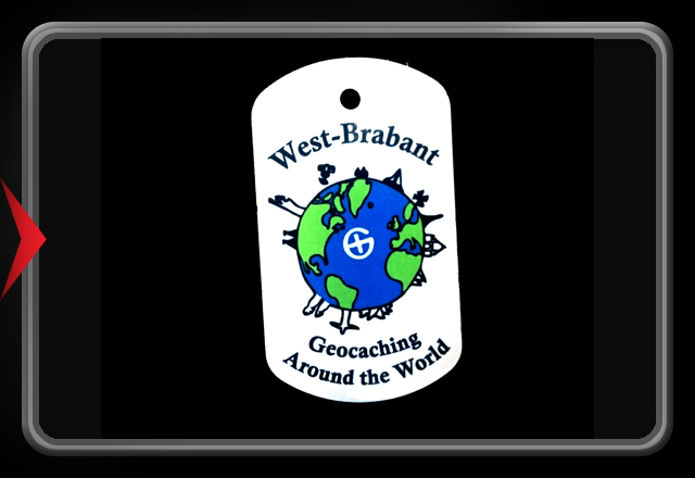 Trackable Event Tag in color - West Brabant