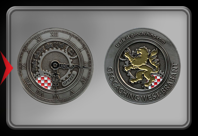 Proxycoin (copy) at Back in Time Geocoin - Roosendaal 2018