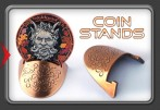 Geocoin Stand - Metal