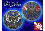 The Legend of Davy Jones Geocoin (Coin & Proxy) - Antique Nickel