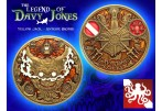 The Legend of Davy Jones Geocoin (Coin & Proxy) - Antique Bronze