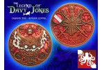 The Legend of Davy Jones Geocoin (Coin & Proxy) - Antique Copper