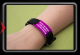 Trackable Bracelet - own design