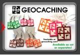 Geocaching.com - Trackable Zipper Pull Orange