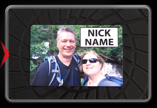 Full Color Name Tag - Own Design