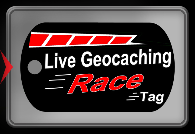 Trackable Race Tag - Live Geocaching