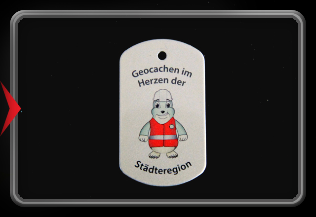 Trackable Event Tag in color - Alsdorf