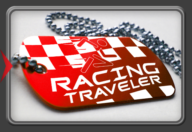 "Racing Tag for Trackables - ""MDT"" Serie - Pink"