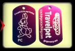 TravelPet DogTag - Rabbit -