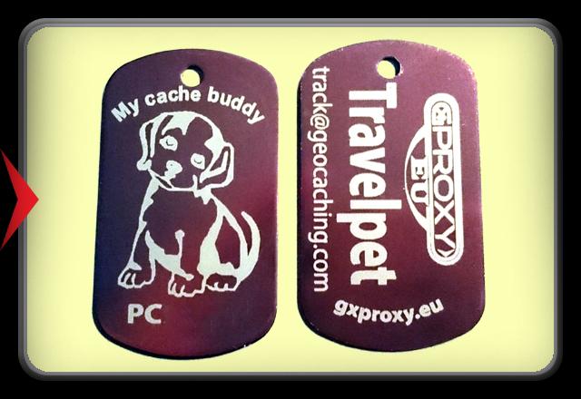 TravelPet DogTag - Dog -