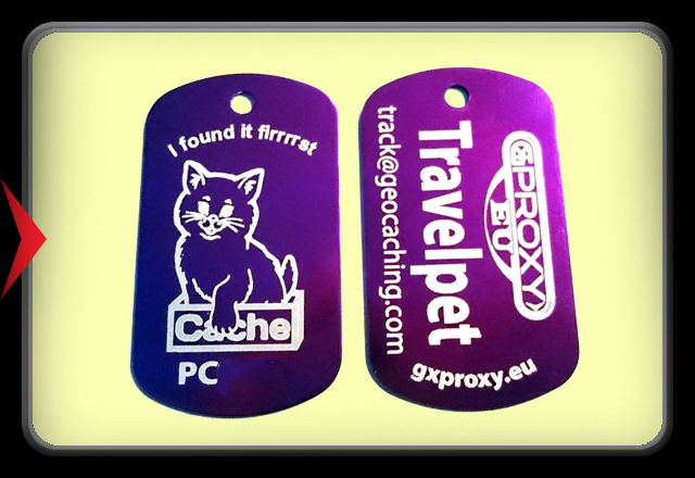 TravelPet DogTag - Cat  -