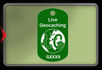 Trackable Tag - Live Geocaching