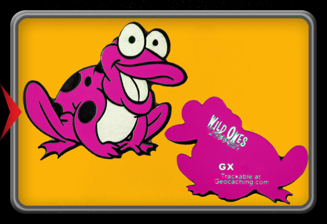 Critters! Frog - Pink -